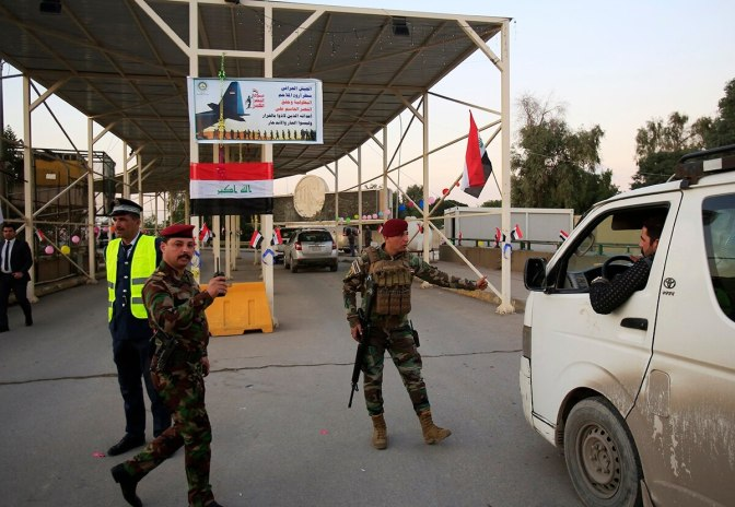 U.S. Military In Iraq On High Alert After Rocket Attack