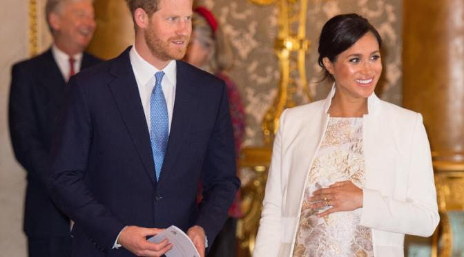 It's A Boy for Prince Harry and Meghan