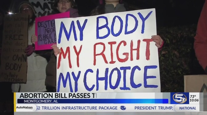 Alabama Abortion Bill Passes The House
