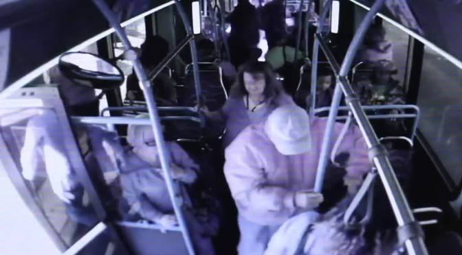 Pure Evil: Woman Pushes Elderly Man Off Of Bus, Kills Him