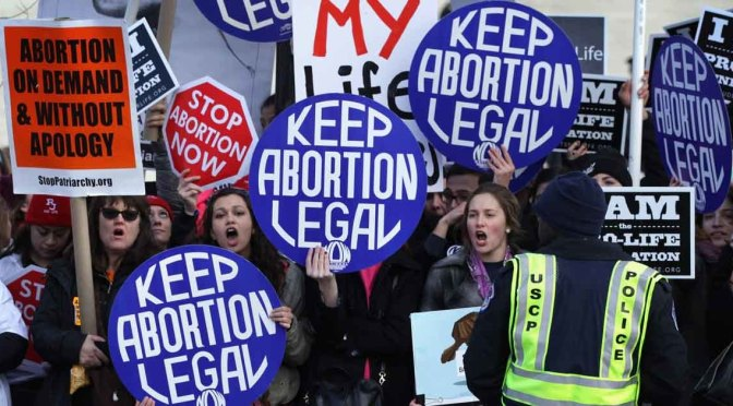 Pro-Choice Abortion Rallies Planned Across The Country Today