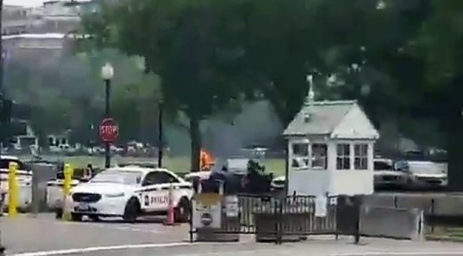 Man Lights Self On Fire Outside White House