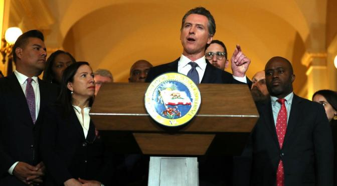 California Governor Furious Over MO, AL Abortion Restrictions