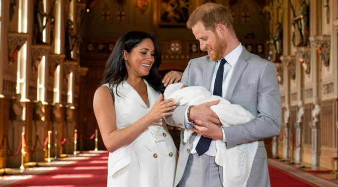 Meghan And Prince Harry Introduce Master Archie Harrison Mountbatten-Windsor