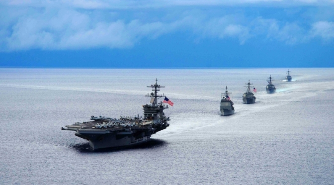 US Deploys Strike Group To Middle East Against Iran Threat