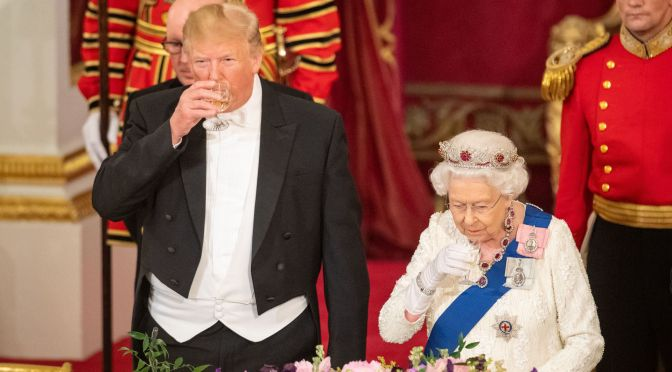 Trump Gets Full Royal Treatment In Great Britain