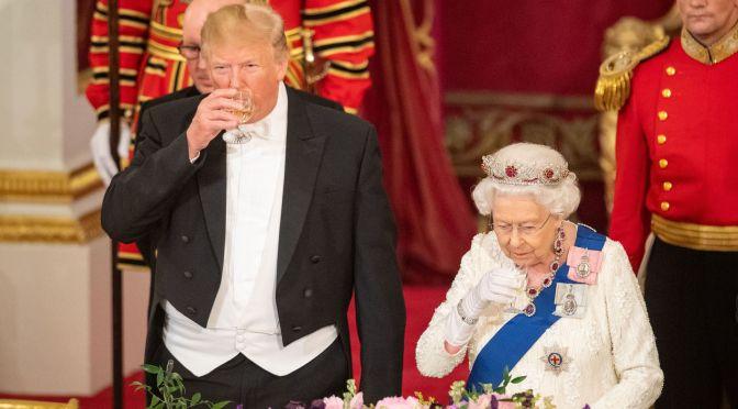 Trump Gets Full Royal Treatment In Great Britain