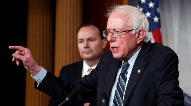 Bernie Sanders Responds To Launch Of Trump 2020 Re-Election Campaign