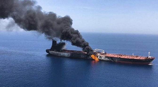 Iran Denies Involvement In Tanker Attacks