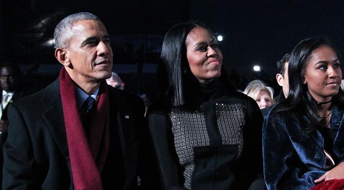 Sasha Obama Graduates