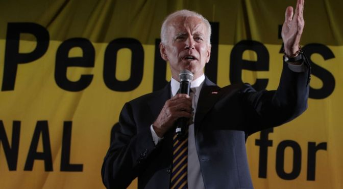 Biden: Not A Racist Bone In My Body