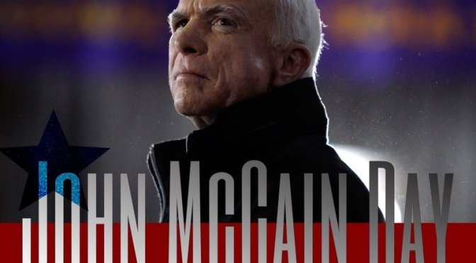 John McCain Day Trending On Trump's Birthday