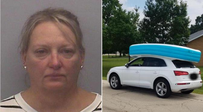 Illinois Mom Arrested For Letting Kids Ride On Top Of Car