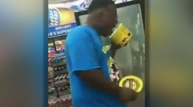 Man Arrested For Licking Tub Of Blue Bell Ice Cream