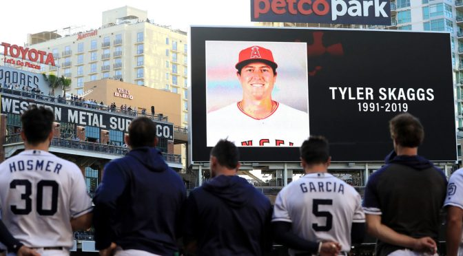 Angels Pitch Tyler Skaggs Found Dead In Hotel Room