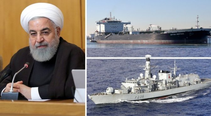 Iranian Military Tries To Commandeer British Tanker