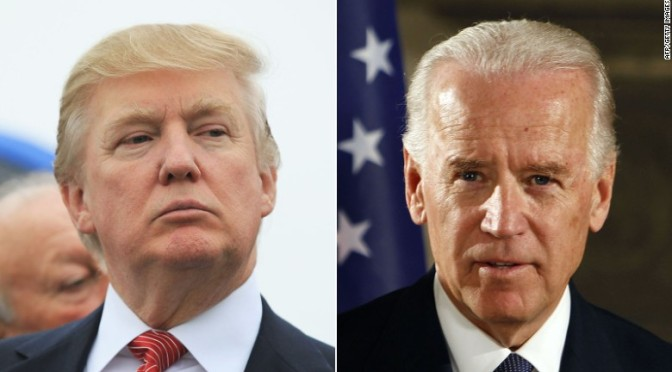 Biden: Trump Has Crossed The Line