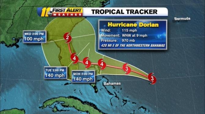 Florida Governor Ron DeSantis Provides Update on Hurricane Dorian