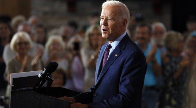 "Biden Hits Trump Hard Over Rhetoric, ""Toxic Tongue"""