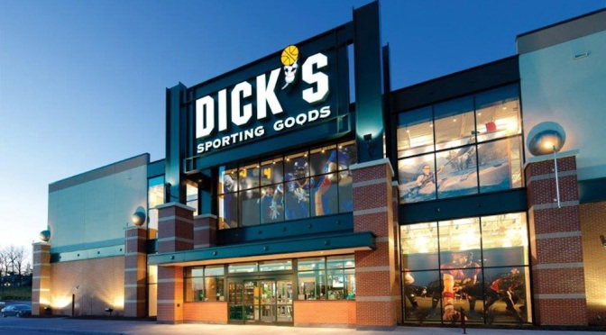 Dick's Sporting Goods Testing No Gun Sale
