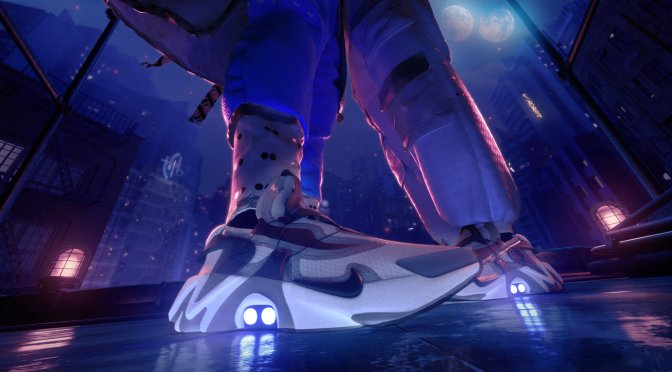 Nike Unveils Futuristic Self-Lacing Sneakers
