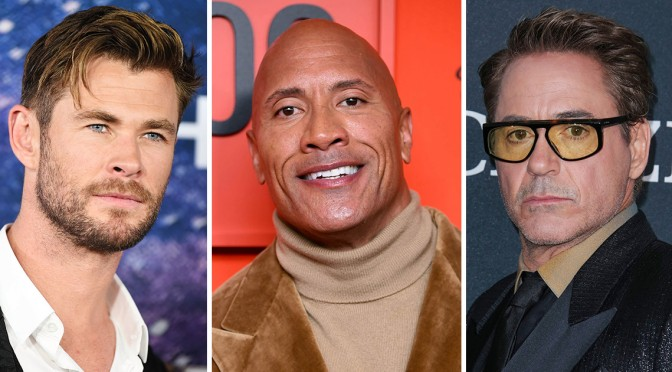 Dwayne Johnson Tops List Of Highest Paid Actors