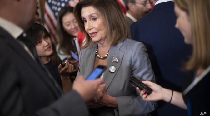 House Speaker Nancy Pelosi Criticizes Arms Sales, More Forces To Saudi Arabia