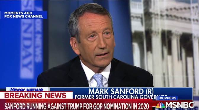 Former SC Governor Mark Sanford Announces Run For President