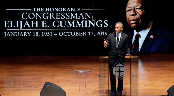 Obama, Clinton Offer Tributes To Late Congressman Cummings