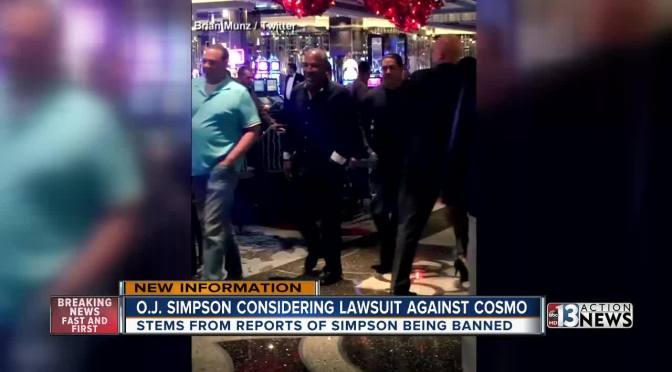 O.J. Simpson Taking The Cosmopolitan To Court
