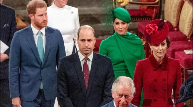 Prince Harry, Duchess Meghan Make Last Royal Appearance