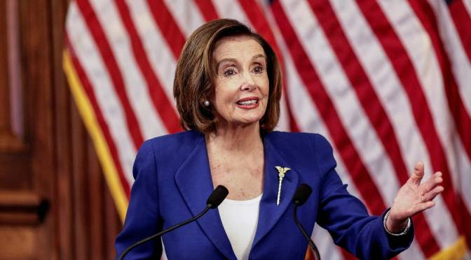 Pelosi Pushes Plans For Another Round Of Stimulus Legislation